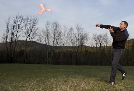 boomerang-throw